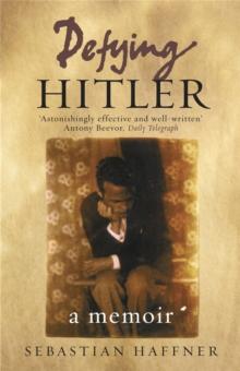 Image for Defying Hitler  : a memoir