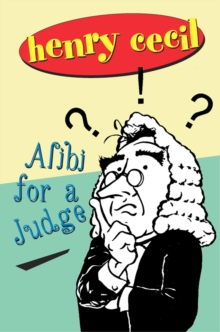 Image for Alibi for a judge