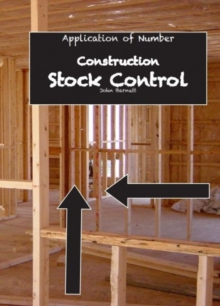 Image for Application of Number: Construction - Stock Control