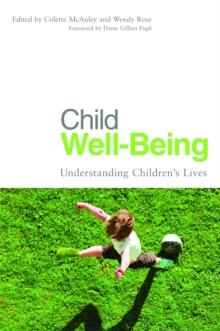 Image for Child well-being  : understanding children's lives