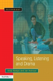 Image for Speaking, listening and drama