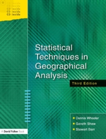 Image for Statistical techniques in geographical analysis