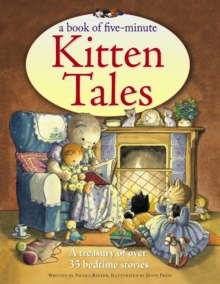 Image for A book of five-minute kitten tales  : a treasury of over 35 bedtime stories