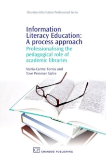 Image for Information literacy education  : a process approach