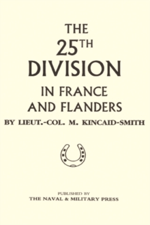 Image for 25th Division in France and Flanders