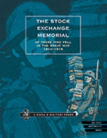 Image for The Stock Exchange Memorial of Those Who Fell in the Great War, 1914-1918