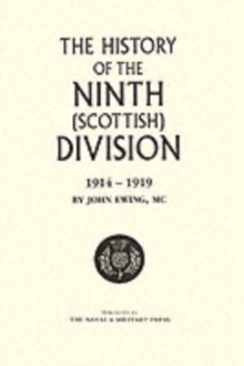 Image for History of the 9th (Scottish) Division