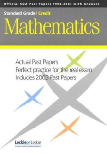 C MATHS SQA PAST PAPERS 2001 TO 2003 - LECKIE AND LECKIE
