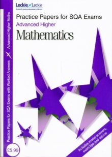 Image for Advanced Higher mathematics practice papers