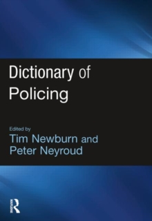 Image for Dictionary of policing