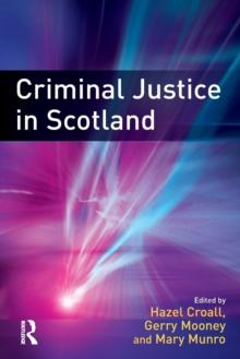 Image for Criminal justice in Scotland