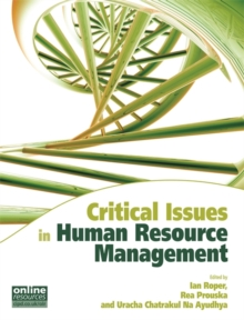 Image for Critical issues in human resource management