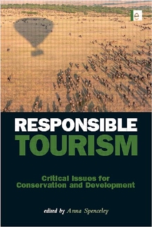 Image for Responsible tourism  : critical issues for conservation and development