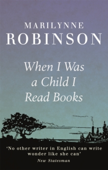 Image for When I was a child I read books