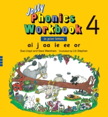 Image for Jolly Phonics Workbook 4 : In Print Letters (American English edition)