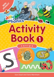 Image for Jolly Phonics Activity Book 1 : in Precursive Letters (British English edition)