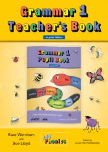 Image for Grammar 1 Teacher's Book : In Print Letters (British English edition)