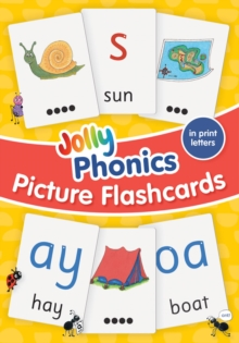 Image for Jolly Phonics Picture Flash Cards : In Print Letters