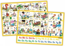 Image for Jolly Phonics Letter Sound Wall Charts : In Precursive Letters (British English edition)