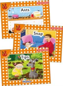 Image for Jolly Phonics Orange Level Readers Set 1 : in Precursive Letters (British English edition)