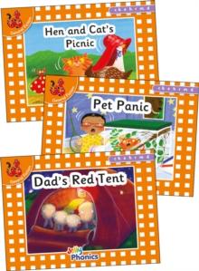 Image for Jolly Phonics Orange Level Readers Set 2 : in Precursive Letters (British English edition)
