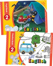 Image for Jolly English Level 2 Pupil Set : In Precursive Letters (British English edition)