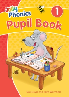 Image for Jolly Phonics Pupil Book 1 : in Precursive Letters (British English edition)