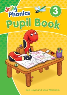 Image for Jolly Phonics Pupil Book 3 : in Precursive Letters (British English edition)