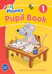 Image for Jolly Phonics Pupil Book 1 : in Print Letters (British English edition)