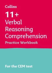 Image for 11+ comprehension results booster  : for the CEM tests