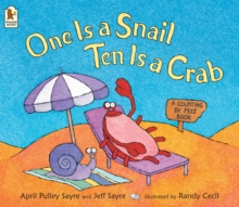 Image for One is a snail, ten is a crab  : a counting by feet book