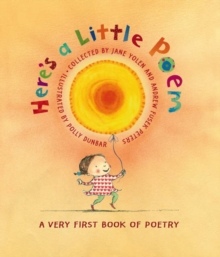 Image for Here's a little poem  : a very first book of poetry
