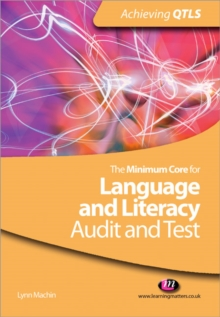 Image for The minimum core for language and literacy  : audit and test