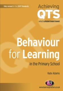 Image for Behaviour for learning in the primary school