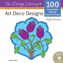 Image for Art deco designs  : 100 new and original hand-drawn copyright-free designs