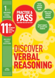 Practice & pass 11+Level 1,: Discover verbal reasoning - Williams, Peter