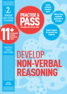 Practice & pass 11+Level 2,: Develop non-verbal reasoning - Williams, Peter