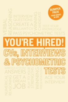 You're hired!  : CVs, interview answers & psychometric tests - Meachin, James