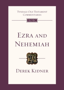 Image for Ezra and Nehemiah : An Introduction and Commentary