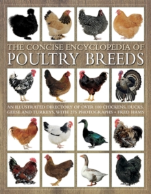 Image for The concise encyclopedia of poultry breeds  : an illustrated directory of over 100 chickens, ducks, geese and turkeys, with 275 photographs