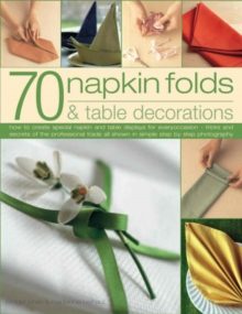 Image for 70 napkin folds & table decorations