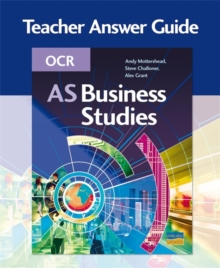 Image for OCR AS BUSINESS STUDIES TEACHERS GUIDE