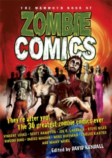 Image for The mammoth book of zombie comics
