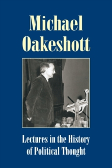 Image for Lectures in the History of Political Thought