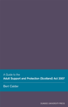 Image for Adult Support Protection (Scotland)
