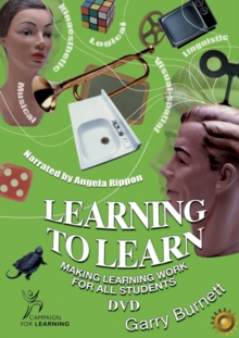 Image for Learning to Learn DVD PAL : Making Learning Work for all Students