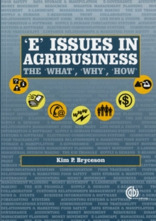 Image for E issues for agribusiness  : the what, why and how