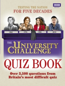 Image for University Challenge quiz book  : over 3,500 challenging questions
