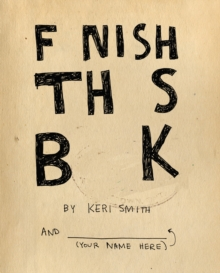 Image for Finish This Book