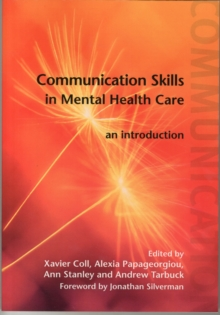 Image for Communication skills in mental health care  : an introduction
